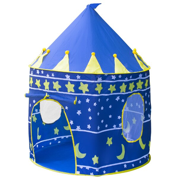 Kids Castle Play Tent with Carrying Bag by Matney