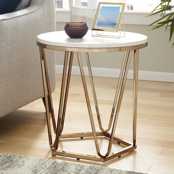 Quartz End Table by Brayden Studio