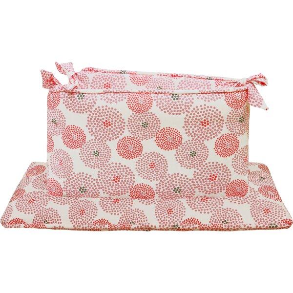 Chloe Jersey Crib Bumper by Petit Nest