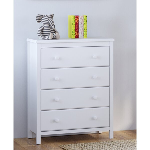Alpine 4 Drawer Dresser by Storkcraft