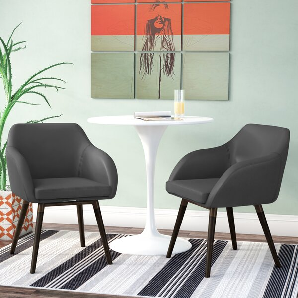 Ensminger Upholstered Dining Chair (Set of 2) by Wrought Studio