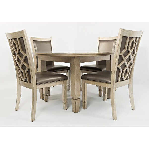 Hannah 5 Piece Dining Set by House of Hampton
