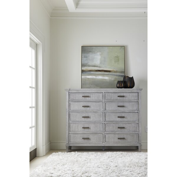 Willow 10 Drawer Double Dresser by Stanley Furniture