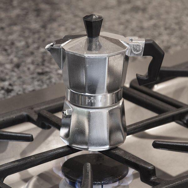 Stove Top Aluminum Espresso Maker by Primula