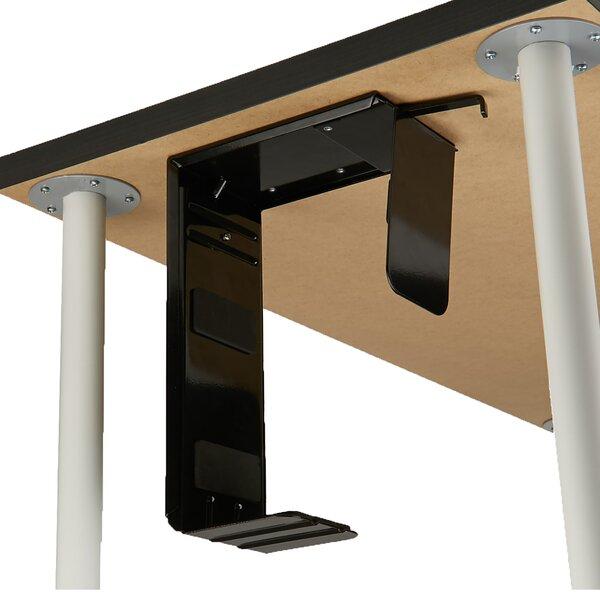 Tower Adjustable 21.56 H x 5.51 W Desk CPU Holder by Mind Reader
