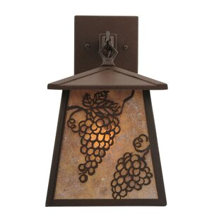 Compare 1-Light Outdoor Wall Lantern By Meyda Tiffany