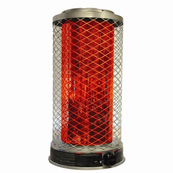 100,000 BTU Natural Gas Radiant Tower Heater by DuraHeat