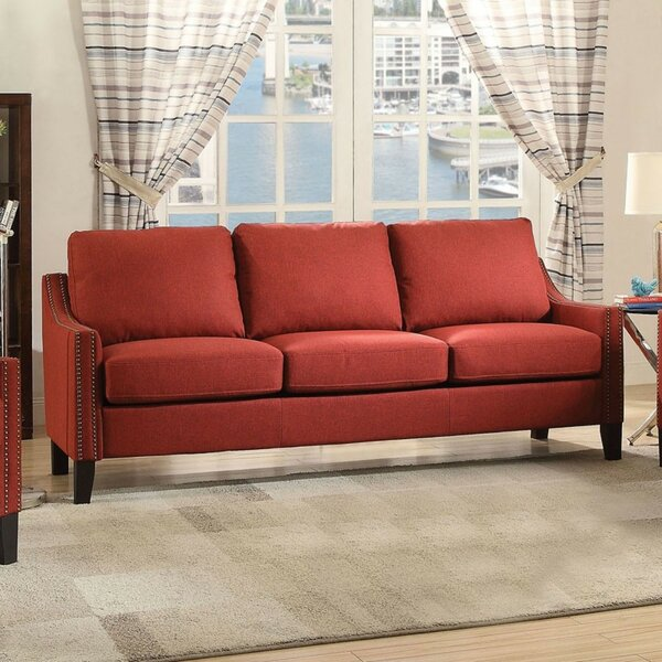 Modern Brand Miele Wooden Sofa by Charlton Home by Charlton Home