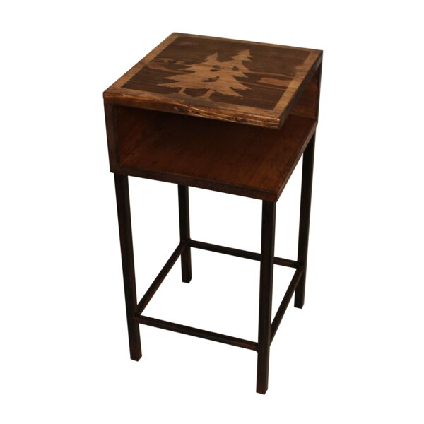 Kenmure End Table By Millwood Pines