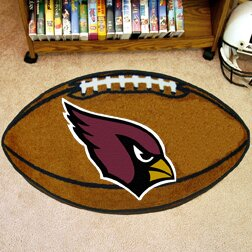 NFL - Arizona Cardinals Football Mat by FANMATS
