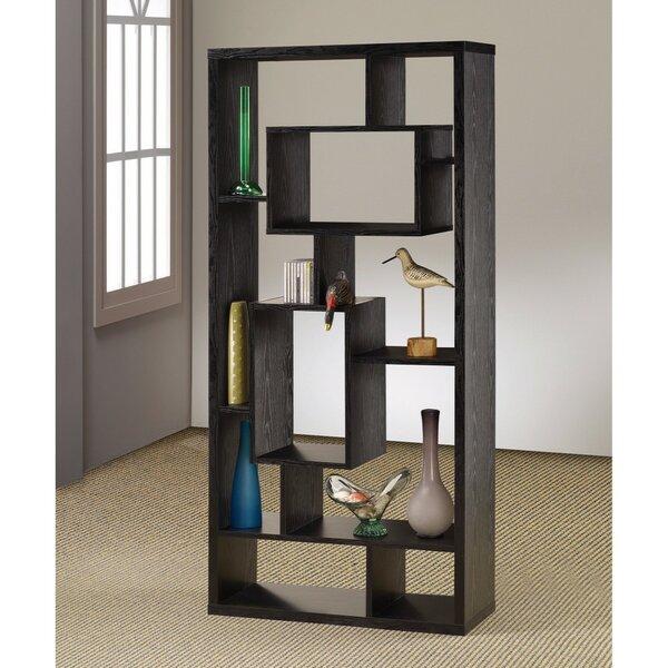 Faulkner Geometric Bookcase By Ebern Designs