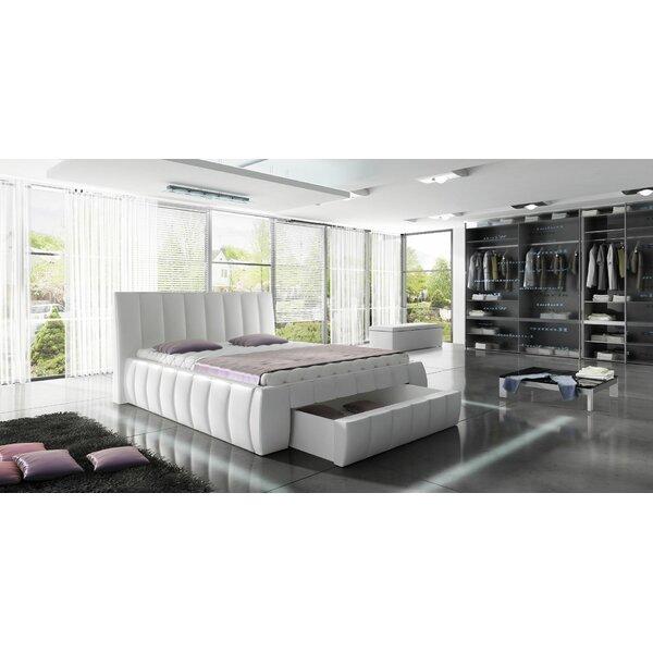 Danvers Modern European Kingsize Upholstered Storage Platform Bed by Orren Ellis