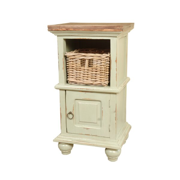 Flovilla Cottage End Table by August Grove