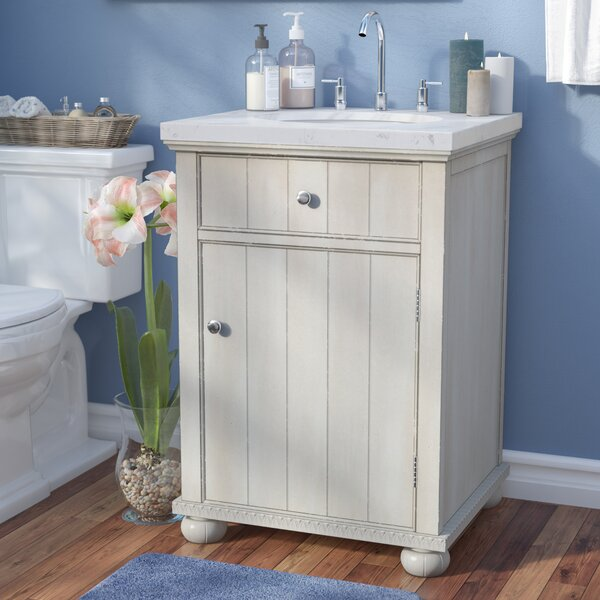 Hammes 24 Single Bathroom Vanity Set by Highland Dunes