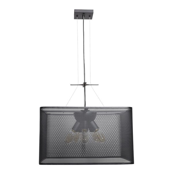 Lacey 5-Light Unique / Statement Rectangle / Square Chandelier by Brayden Studio Brayden Studio
