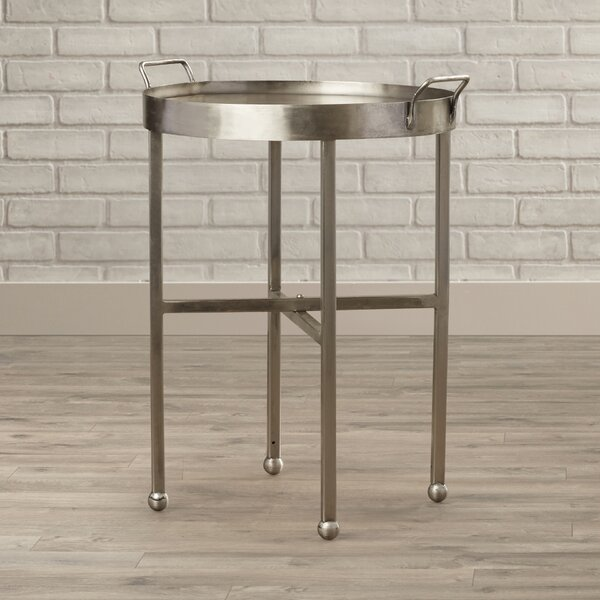 Kori End Table by 17 Stories