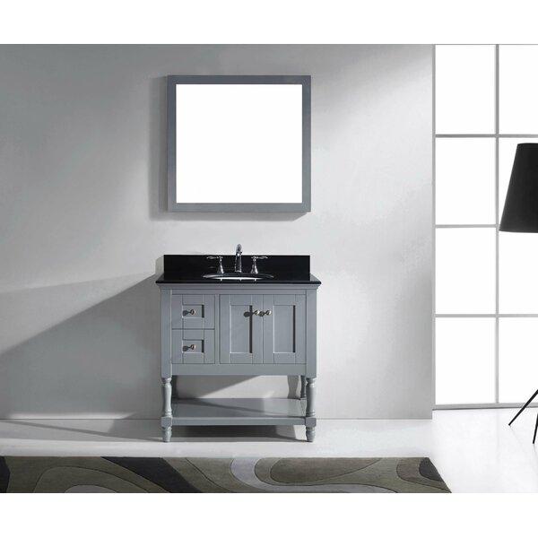 Cicely 35 Single Bathroom Vanity Set with Mirror by Gracie Oaks