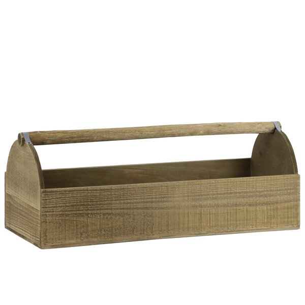 Zavala Wood Planter Tray by August Grove