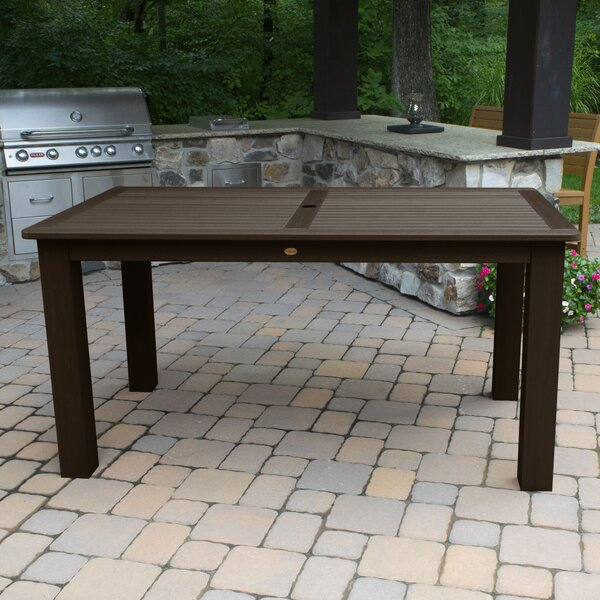 Highsmith Plastic Dining Table by Alcott Hill