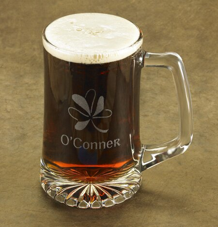 Personalized Gift Shamrock 25 oz. Sport Mug by JDS Personalized Gifts