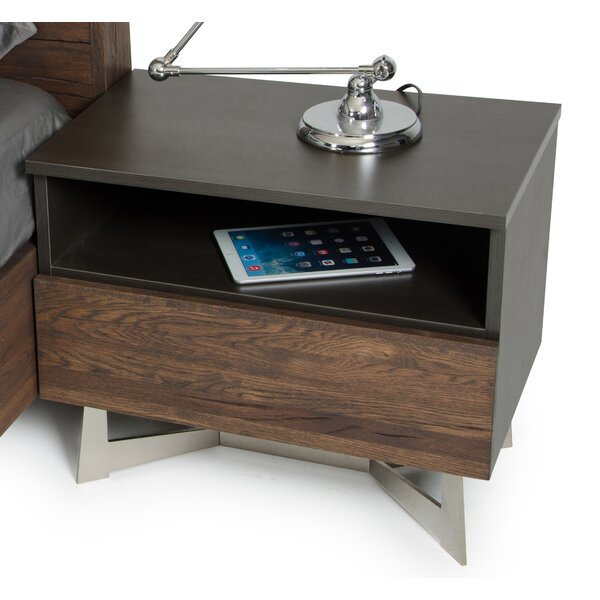Merkley 1 Drawer Nightstand by Brayden Studio Brayden Studio