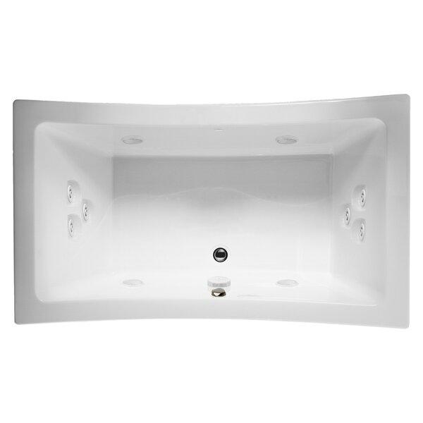 Allusion 72 x 36 Drop In Whirlpool Bathtub by Jacuzzi®