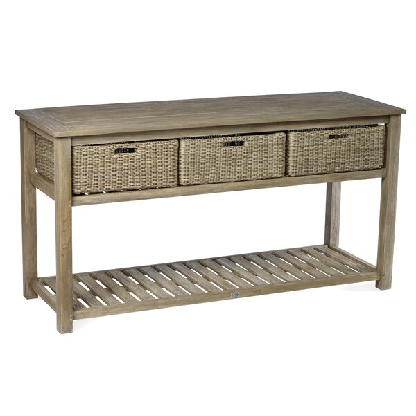 Earnest Wooden Buffet and Console Table by Rosecliff Heights