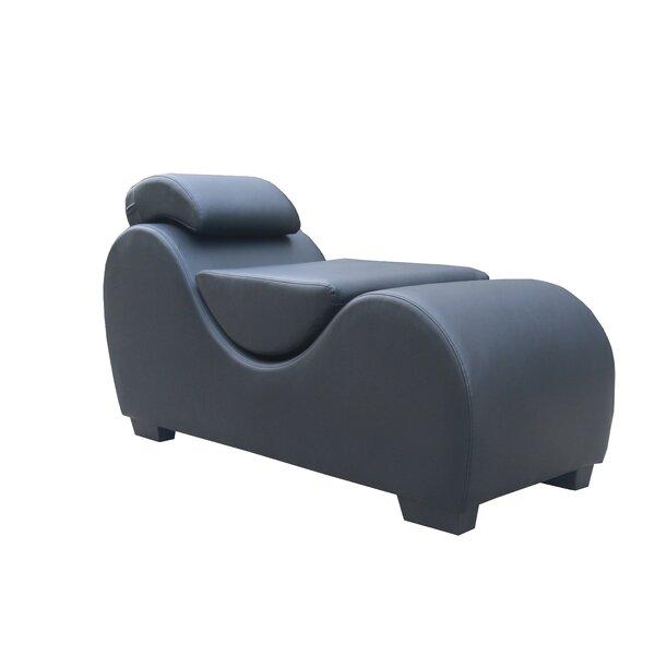 Houghton Yoga Chaise Lounge By Orren Ellis
