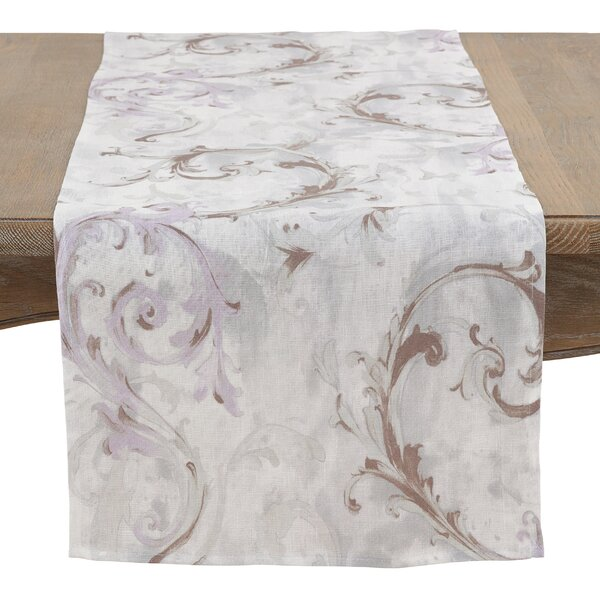 Newcombe Beautifully Baroque Table Runner by House of Hampton
