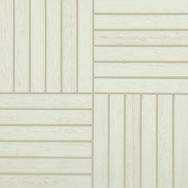 Harmony Grove 1 x 6 Porcelain Wood look Tile in Oak/Olive Cotton by PIXL