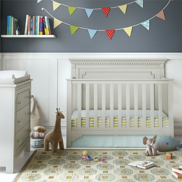 Veendam 5-in-1 Convertible Crib by Mistana
