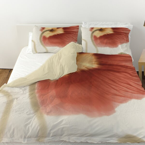 Mystic Poppy 2 Duvet Cover by Manual Woodworkers & Weavers