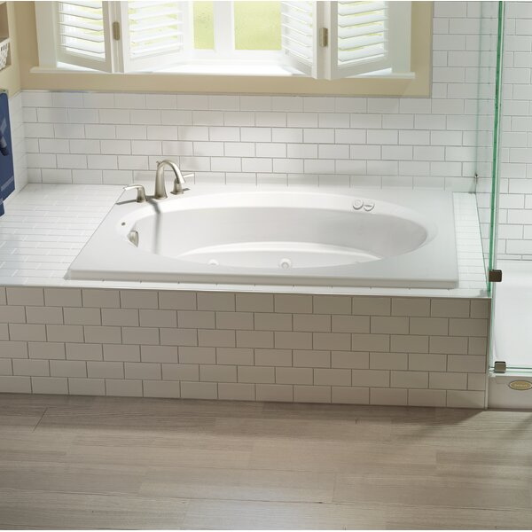 Signature® 72 x 42 Drop In Bathtub by Jacuzzi®