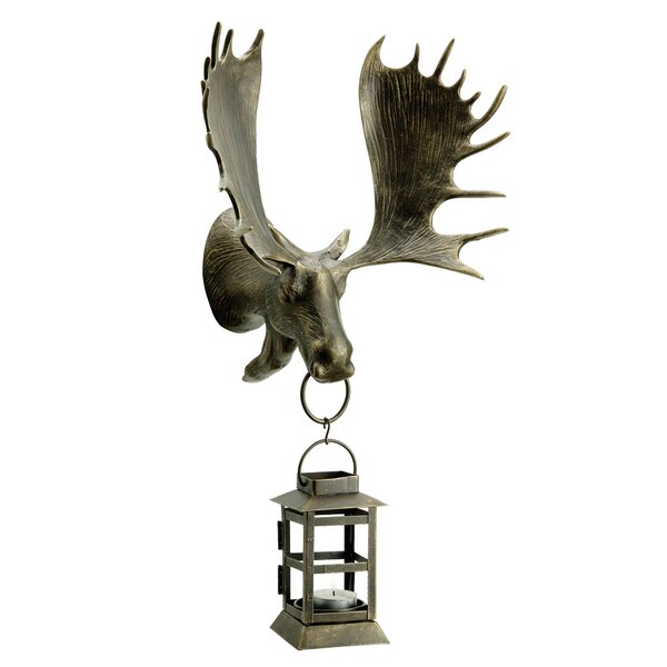 Moose Outdoor Wall Mounted Lantern by SPI Home
