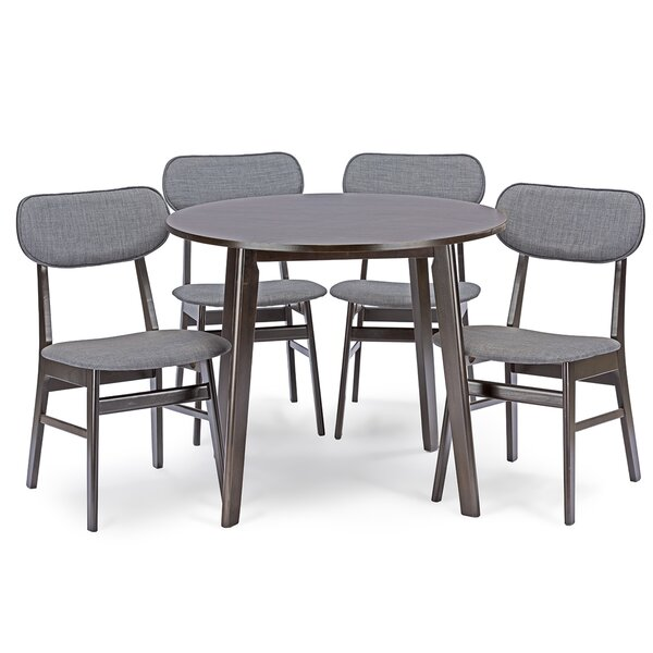 Hern 5 Piece Dining Set by George Oliver