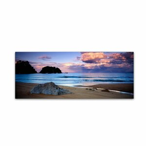 Kaiteriteri Sunset by David Evans Photo Graphic Print on Canvas by Trademark Fine Art