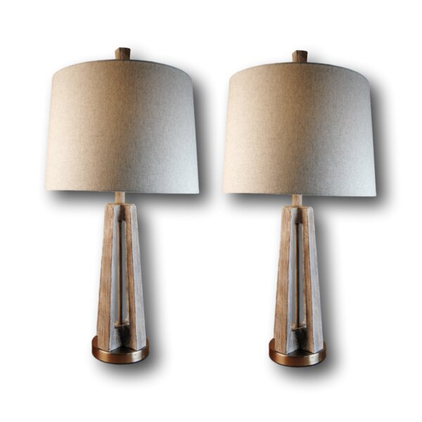 Lower Shockerwick 30 Table Lamp (Set of 2) by Union Rustic