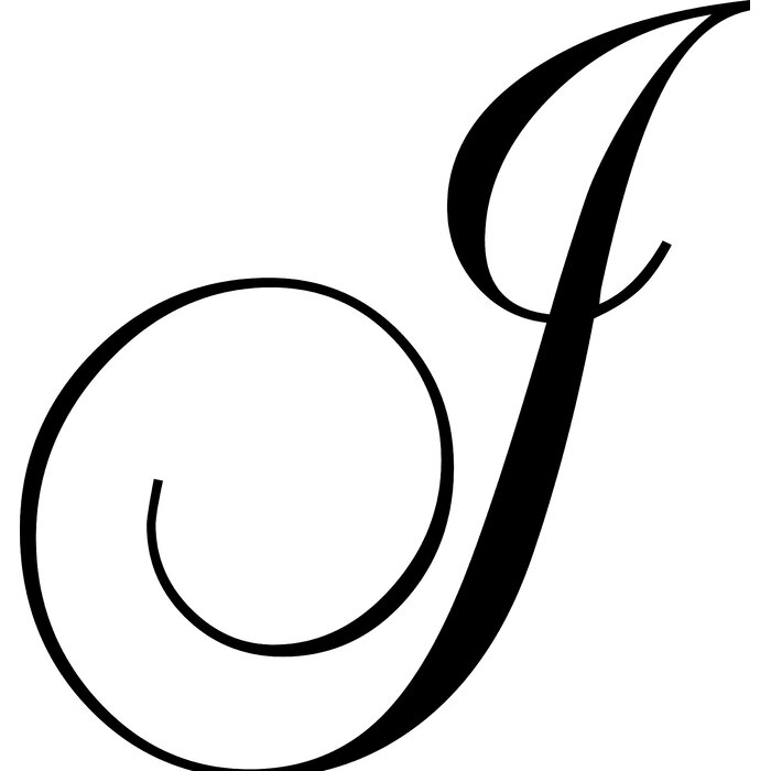 Letter J Wall Decal