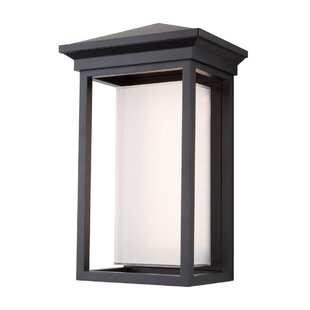 Tecca Traditional 1-Light Outdoor Flush Mount By Longshore Tides Outdoor Lighting