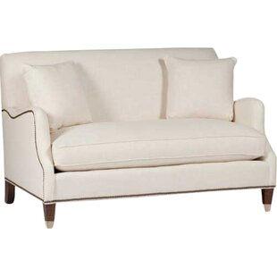 Lincoln Saddle Arm Loveseat