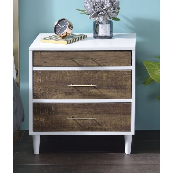 Bilton 3 Drawer Nightstand By Latitude Run by Latitude Run 2020 Sale