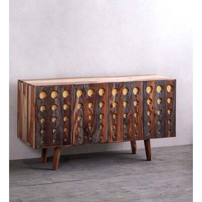Rosalez Dot Sheesham Wood Console Table