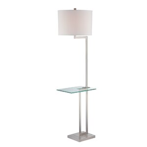 Modern Contemporary Floor Lamp With Table Attached Allmodern