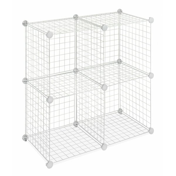 Storage Cube 14.25 Shelving Unit (Set of 4) by Whitmor, Inc