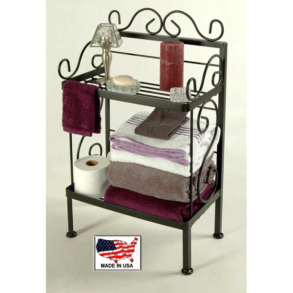 18 W x 31 H Bathroom Shelf by Grace Collection