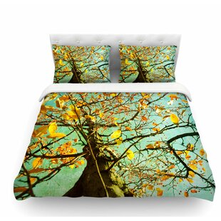 Autumn Tree by Sylvia Coomes Featherweight Duvet Cover