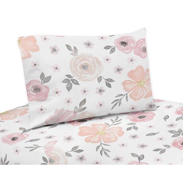 Watercolor Floral Sheet Set by Sweet Jojo Designs