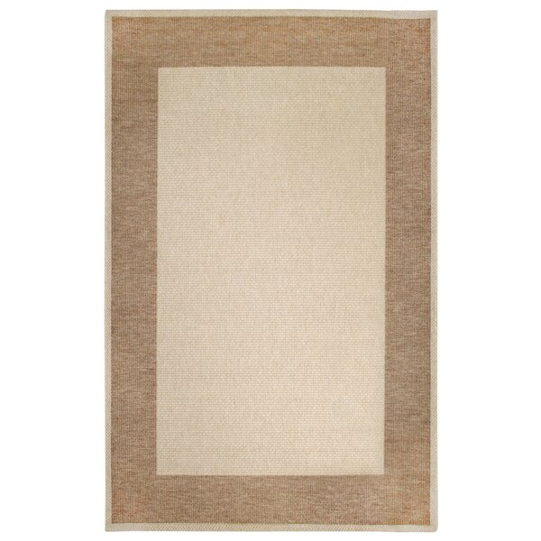 Amalia Border Beige Indoor/Outdoor Area Rug by Winston Porter