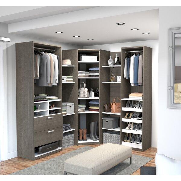 super popular 4521b c8502 walk in closet corner unit You'll Love in 2019 | Wayfair
