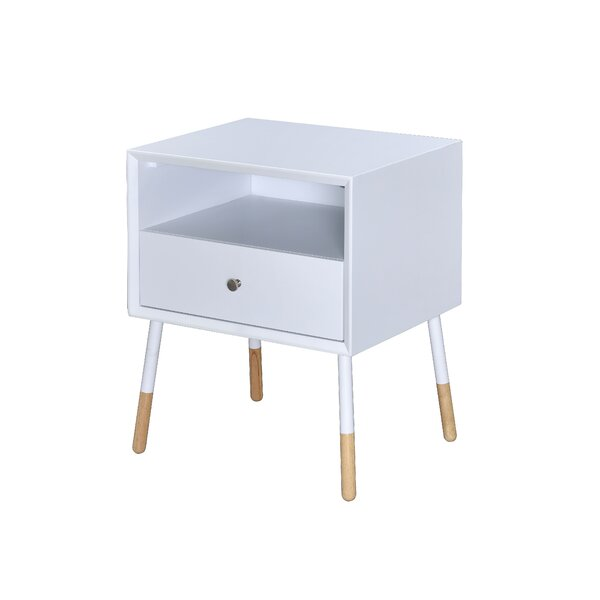Monette 1 Drawer Nightstand by Corrigan Studio